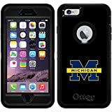 University Of Michigan - Michigan M design on Black OtterBox Defender Series Case for iPhone 6 Plus and iPhone 6s Plus