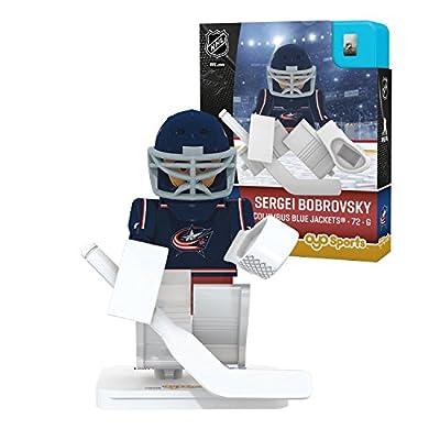 OYO Sports NHL Minifigure Columbus Blue Jackets Sergei Bobrovsky
