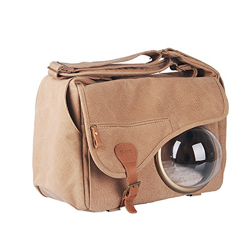 U-pet Innovative Patent Bubble Pet Carriers, Brown