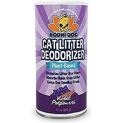 Bodhi Dog Natural Cat Litter Deodorizer Powder   Proprietary Odor Deodorizing and Eliminator