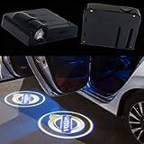 2Pcs Wireless Universal LED Car Door Welcome Light Car Door Shadow Led Projector Logo Wireless Car Welcome Door for…