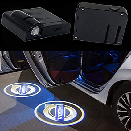 Decorative Lamp Special Section 2pcs Customized Universal Wireless Car Door Welcome Light Car Door Shadow Led Welcome Lamp Led Laser Ghost Shadow Projector Lamp Automobiles & Motorcycles