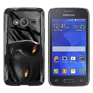 Shell-Star Arte & diseño plástico duro Fundas Cover Cubre Hard Case Cover para Samsung Galaxy Ace4 / Galaxy Ace 4 LTE / SM-G313F ( Flame Girl )