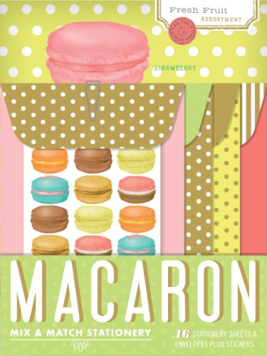 Macaron Mix & Match (Match Stationery Books)