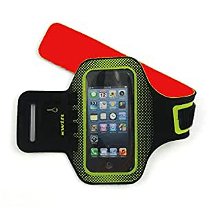 iPhone Armband for iPhone 5, 5s, 5c, and iPhone 4 and 4s by Swift Feet. Take Your Running to a New Level with the Swift Slim Fit Water Resistant Running Armband. The Perfect Exercise Armband for All Sports When You Are Ready To Go Beyond Your Limits! **FREE E-BOOK INCLUDED - FIRE UP YOUR CORE - 30 Ways To Burn Fat & Tone Muscle**