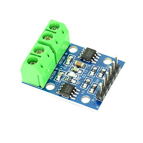 HG7881 Dual Channel DC Motor / Stepper Motor Driver Module Board 2.5V to 12V with 4 Holes for Easy Mounting from Optimus Electric (Motor Stepper Microcontroller)