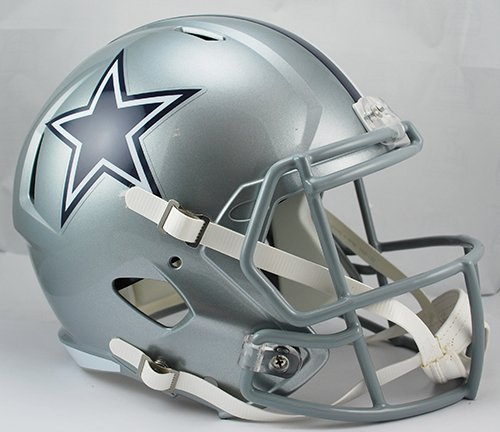 Dallas Cowboys Riddell Full Size Speed Deluxe Replica Football Helmet - New in Riddell Box (Dallas Cowboys Deluxe Replica Helmet)