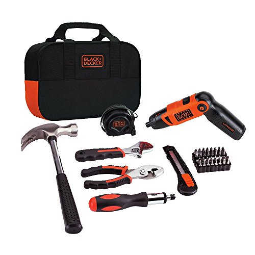 BLACK+DECKER LI2000PK Lithium-Ion Screwdriver and Project Kit