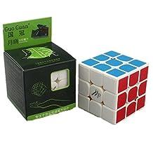Kingcube Moyu Guoguan Yuexiao 3x3 white magic cube 3x3x3 speed cube puzzle