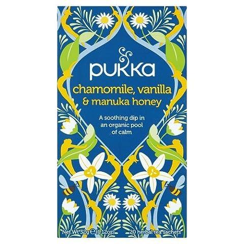 Pukka - Chamomile, Vanilla & Manuka Honey