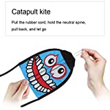 New Outdoor Finger Shooting Kite, Unpara Flingshot Flying Toys Yard Games Kids Fun Toy, Exercise Hand-eye Coordination and Accuracy (D)