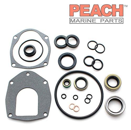 Peach Marine Parts PM-26-816575A-3 Seal Kit, Outdrive Lower Unit; Replaces Mercury Marine Mercuiser: 26-816575A 3, 26-816575A3, 26-816575A 1, 26-816575A1, Sierra: 18-2646-1, Mallory: 9-7420 Made b
