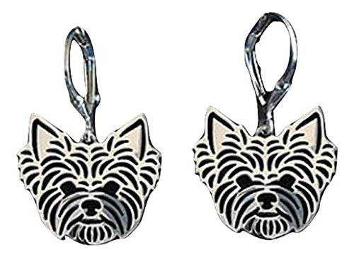 [Yorkshire Terrier Earrings For Yorkie Dog Lovers] (Yorkshire Terrier Jewelry)