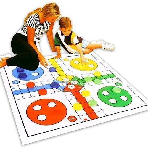 Gro/ße Spielmatte f/ür drinnen oder draussen mit dem Gesellschaftsspiel