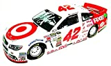 2X AUTOGRAPHED 2014 Kyle Larson & Chip Ganassi #42 Target Racing NIGHT (Axe) SIGNED Lionel 1/24 NASCAR Diecast Rookie Car with COA (#586 of only 937 produced!)