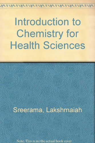 Introduction to Chemistry for Health Sciences Lab Manual