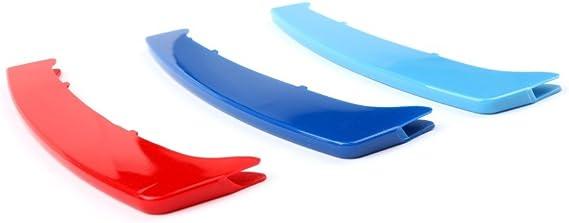 adatech 3/x Clips pour BMW Grille de grille 8/bidirectionnelle trois couleurs bandes pour grille