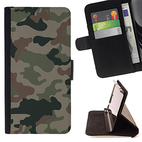 Shockproof Card holder phone case for LG Nexus 5X(Army Green) - 5