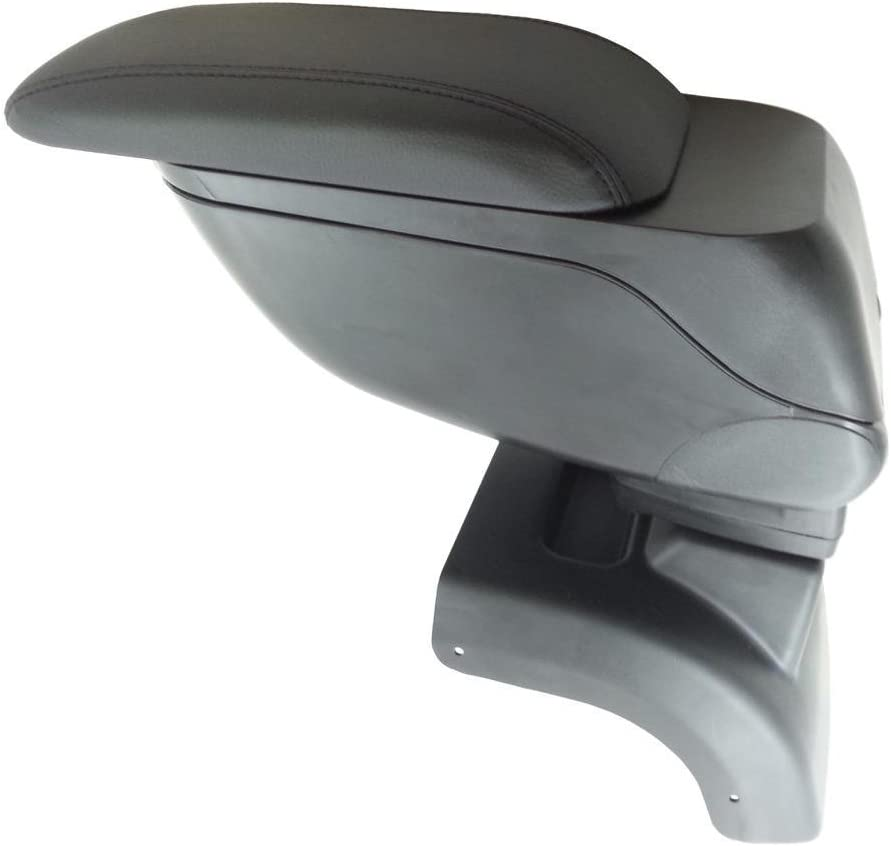 GREY PADDED LEATHER ARMREST CENTER SPECIFIC FIT FORD FOCUS MK2 2005-2011