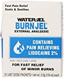 Water Jel, First Aid Burn Relief, Burn jel, 25 count
