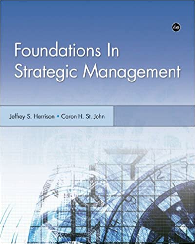 Amazon foundations in strategic management foundations foundations in strategic management foundations series in management 4th edition fandeluxe Image collections