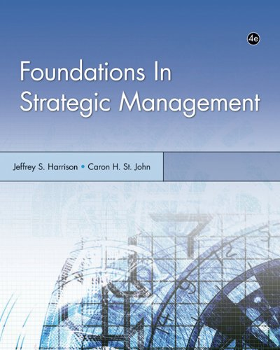 Foundations in Strategic Management (Foundations Series in Management)