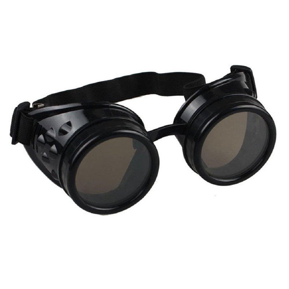 Gafas Vintage de Moda Punk para soldar Cosplay Gafas de Sol a Prueba de Viento Unisex ddellk Gafas Steampunk
