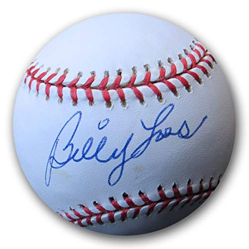 Billy Loes Signed Autographed MLB Baseball Brooklyn Dodgers COA