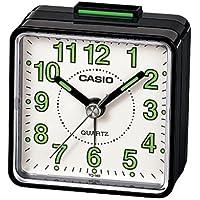 Casio TQ140 Bla Clock Radios Reloj despertador para viajes.