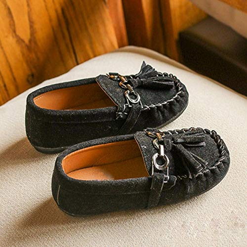 Spring Autumn Anti-Slip Tassels Baby Girls Moccasin-Gommino Low-Cut Shoes