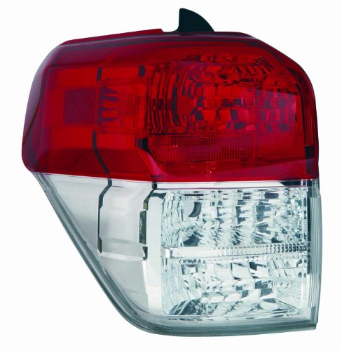 Tail Lens Light Toyota - Depo 312-19A5L-UC1 Toyota 4-Runner Driver Side Tail Lamp Lens Housing