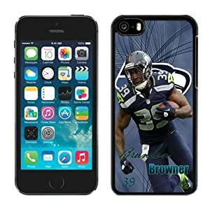 NFL Seattle Seahawks Brandon Browner iphone 5C Casecell phone cases&Gift Holiday&Christmas Gifts NFIU8715898