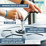 """Vision Metalizers IC1800 18"""" Acrylic Convex Mirrors"""