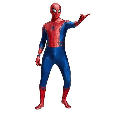 ZHANGQI Traje De Cosplay De Spider-Man Trajes Monos Costume ...
