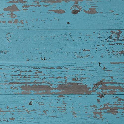 Timeline Wood Skinnies 00958 11/32 in. x 5.5 in. x 47.5 in. Wood Panels, Blue (6-Pack) by Timeline