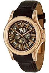 Bulova Men's 64A103 Kirkwood Analog Display Swiss Automatic Brown Watch