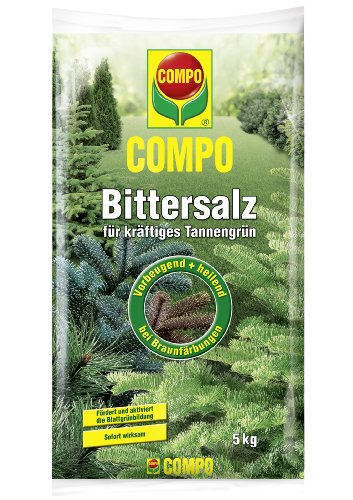 COMPO Bittersalz, Gartendünger für kräftiges Tannengrün, 5 kg