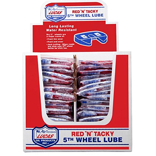 Lucas Oil 10676-48PK 5th Wheel Grease - 2.5 oz., (Pack of -