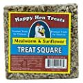 Happy Hen Treats Treat for Pets, Mealworm and Sunflower, 6.5-Ounce from Happy Hen Treats