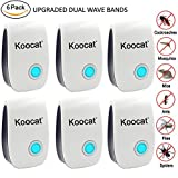 6PCS Ultrasonic Pest Repeller - Electronic Plug In Control Repellent for ...
