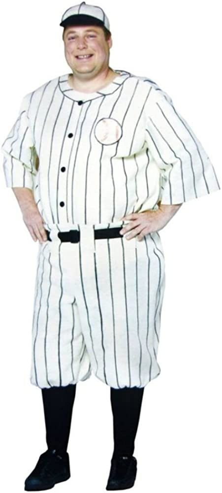 Ladies Baseball Costume Cap American Sports Player USA World Series Fancy Dress