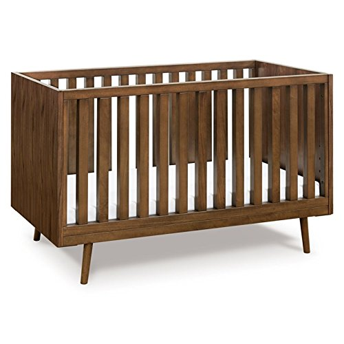Ubabub Nifty Timber 3-in-1 Crib, Walnut