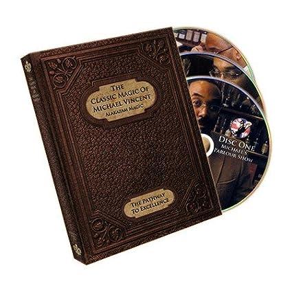 Amazon.com: El clásico magia de Michael Vincent (3 DVD Set ...