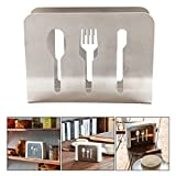 Itian Novel Stainless Steel Napkin Holder Rack Used In Home Hotel And Resturant