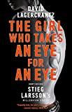 capa de The Girl Who Takes an Eye for an Eye: Continuing Stieg Larsson's Dragon Tattoo series