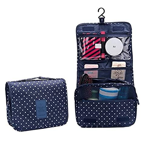 Amazon.com: Fashion Travel Pouch Waterproof Portable Cosmetic Cases Man Toiletry Bags Women Organizer Hanging Wash: Kitchen & Dining
