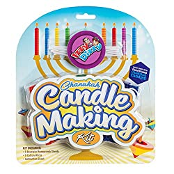 Izzy 'n' Dizzy Chanukah Candle Making Kit - In