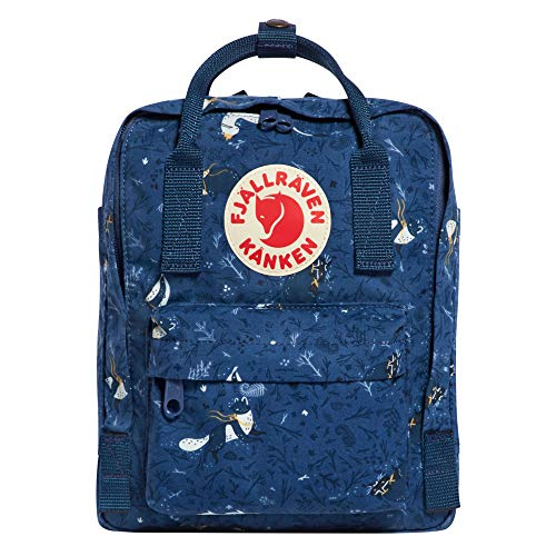 Fjallraven - Kanken Art Special Edition Mini Backpack for Everyday, Blue Fable