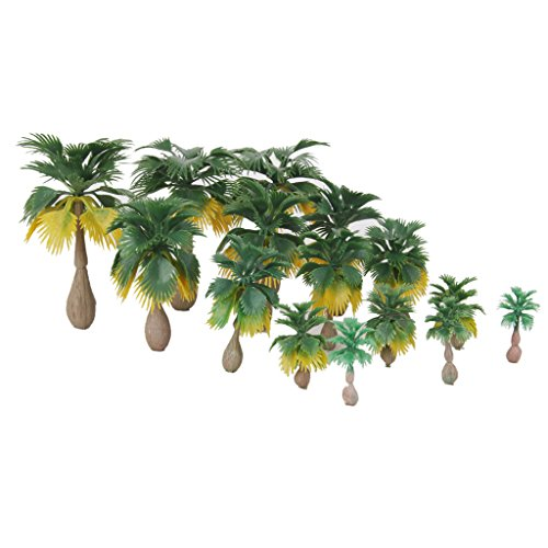 Miniature Palm Trees Fairy Garden Landscape Bonsai Decor Pack of 15