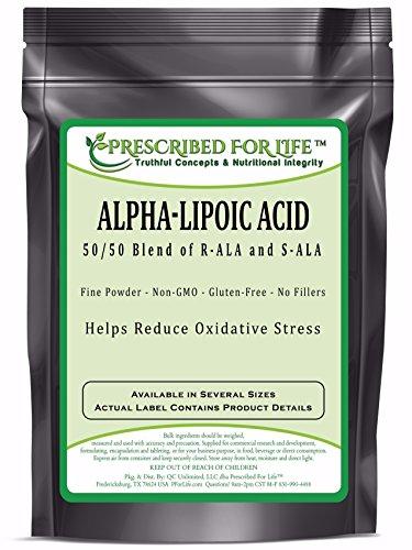 Alpha Lipoic Acid - 100% Pure Natural Powder - No Fillers, 55 lb by Prescribed For Life